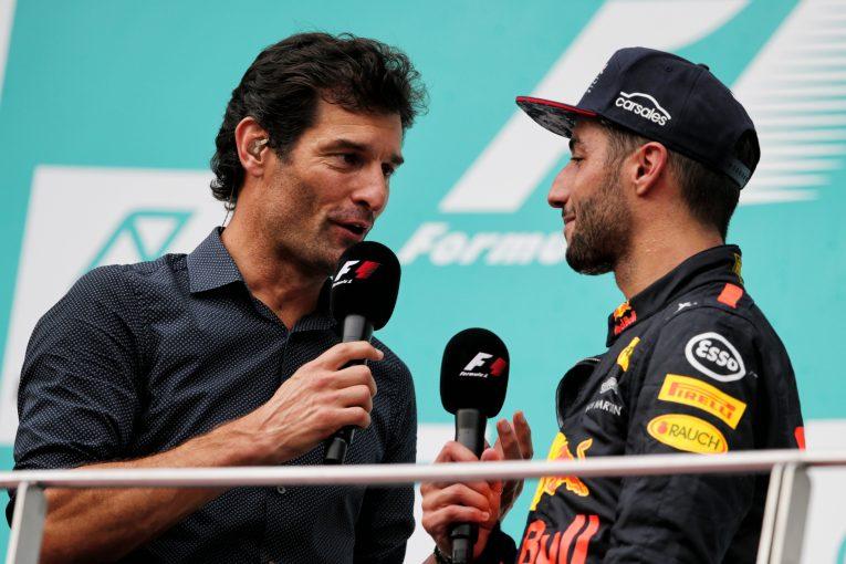 F1 | F1で9勝をあげたウエーバー、オーストラリアのモータースポーツ殿堂入りが決定