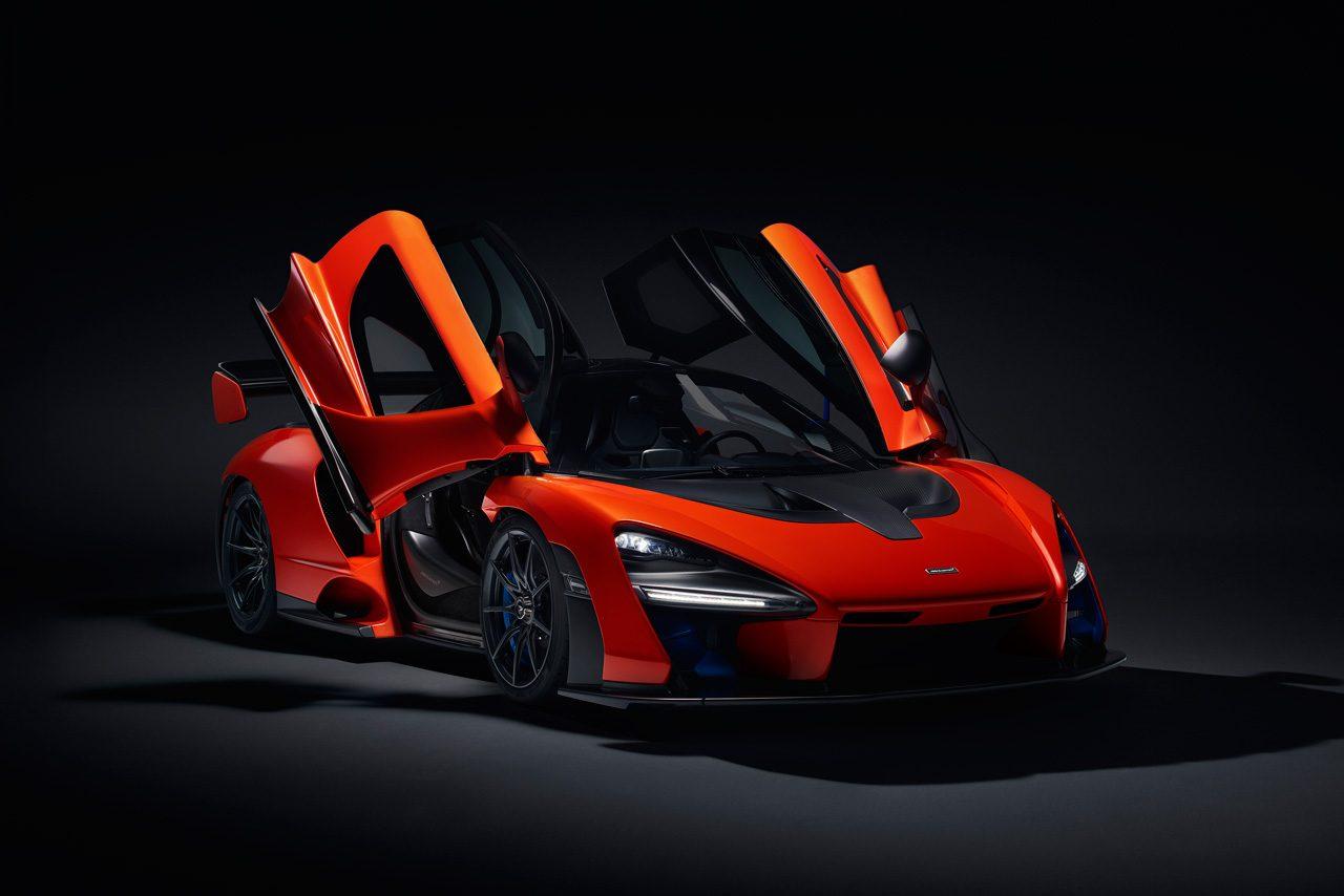 F1チャンピオンの名を擁したハイパーカー、『マクラーレン・セナ』が世界初公開