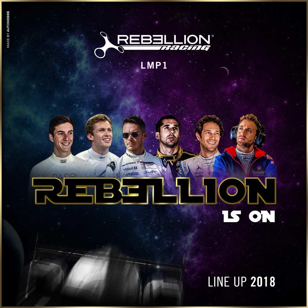 WEC:レベリオン・レーシングがLMP1に復帰。ロッテラー、ジャニらの起用も発表