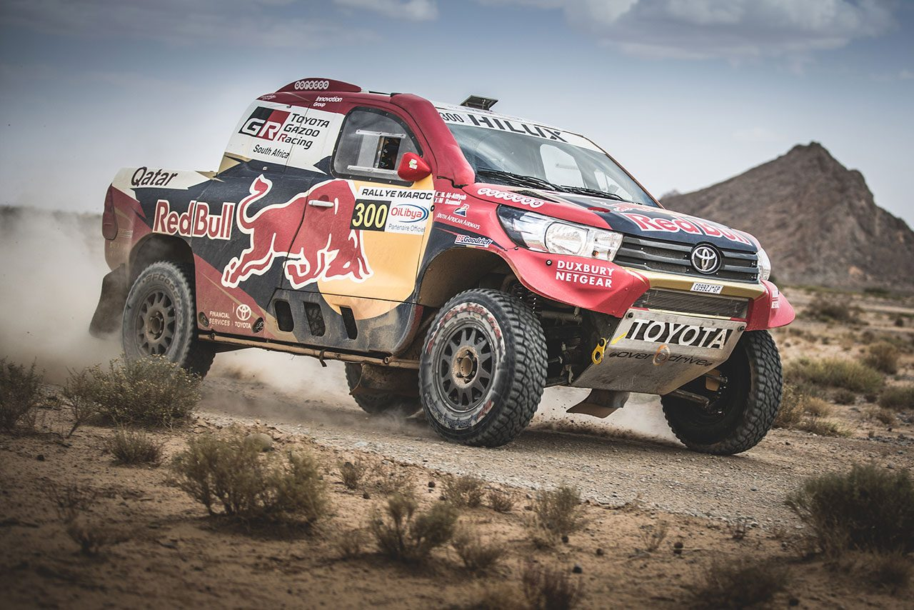 ダカールラリー:TGR南アフリカが初の大幅改良。第40回大会に新型トヨタ・ハイラックスを投入
