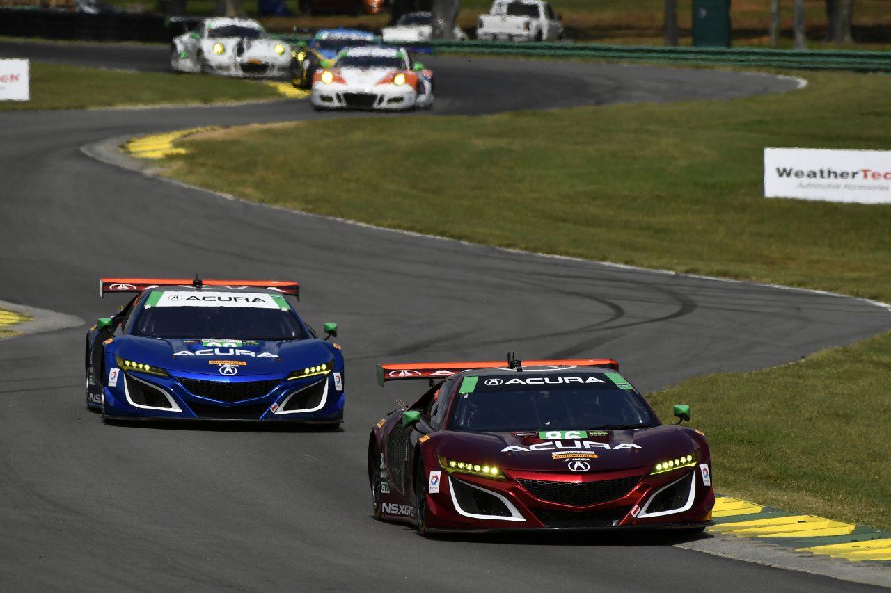IMSA:『NSX GT3』の初優勝を飾ったMSRが体制刷新。2018年のフル参戦は1台に