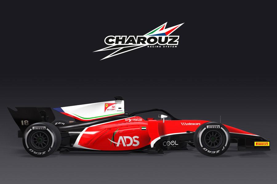 FIA F2:2018年新規参入のチャロウズにフェラーリ支配下の若手ドライバーが合流