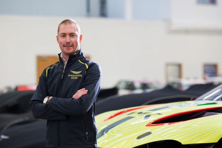 BMWからアストンマーチン・レーシングへ移籍したマキシム・マルタン