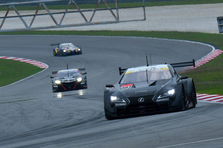 スーパーGT | セパンでスーパーGTタイヤメーカーテスト開催中。GT500新エアロ装着車も走行