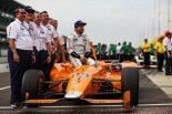 F1 | アロンソはインディカーに好影響をもたらしたとチルトンが称賛。「勝たなくてほっとした」との本音も