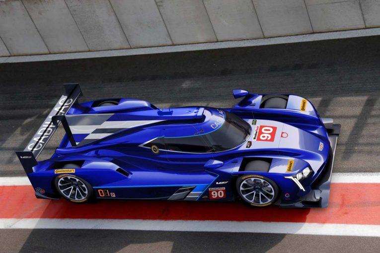 スピリット・オブ・デイトナ・レーシングが公開した90号車キャデラックイメージ