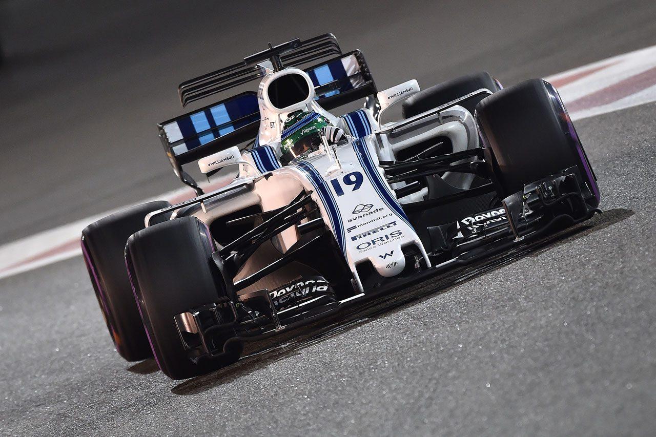 2017年F1アブダビGP フェリペ・マッサ(ウイリアムズFW40)