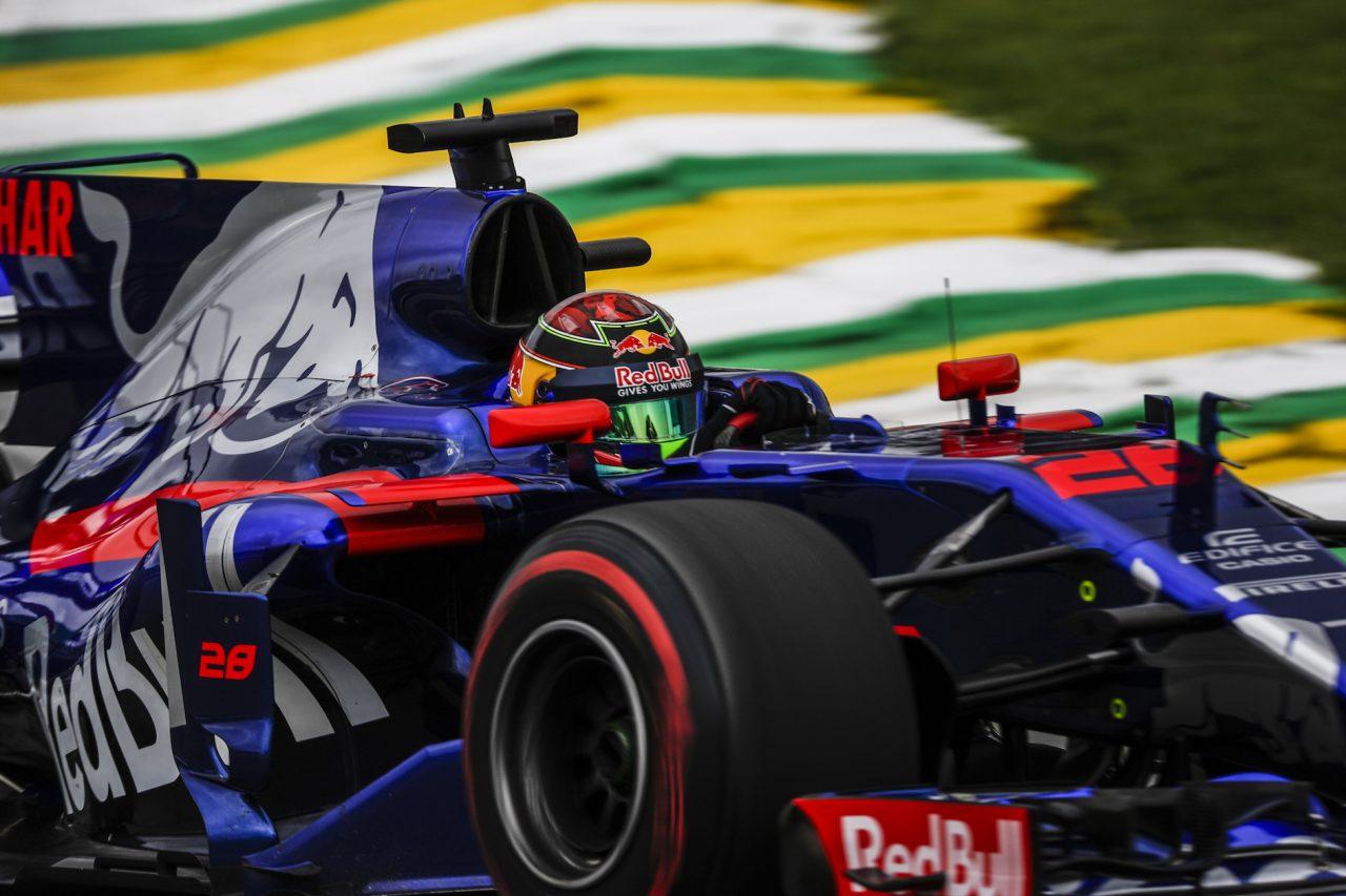 2017年F1ブラジルGPでのハートレー