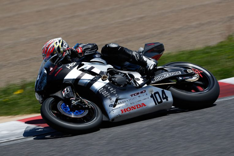 2017年は第3戦まで『Honda Dream Racing』として参戦(写真は第3戦までのもの)