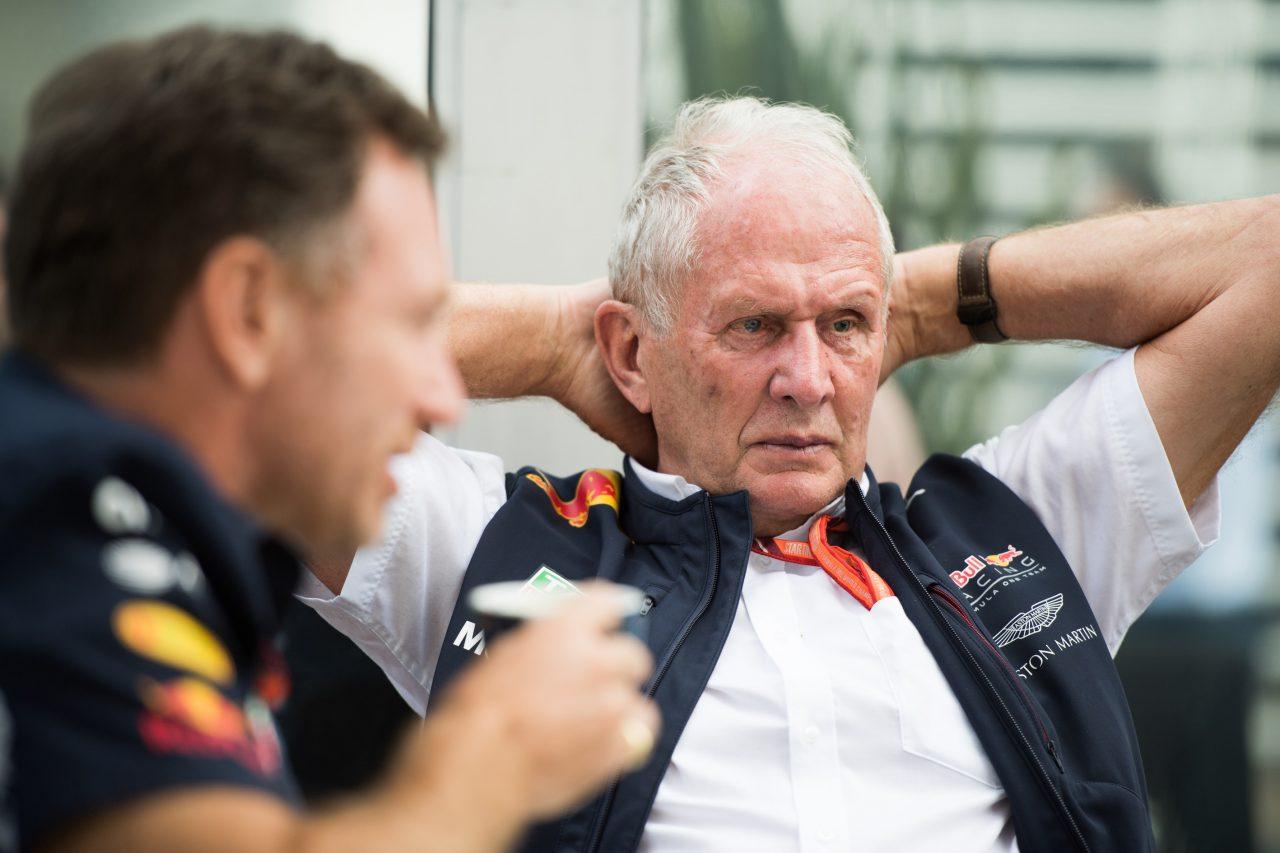 2017年F1メキシコGPでのヘルムート・マルコ