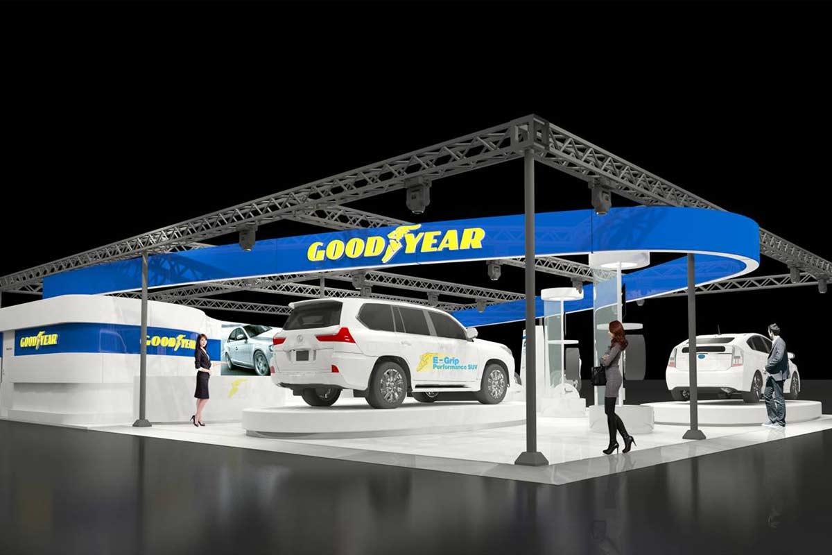 グッドイヤーが東京オートサロンに出展。2月発売予定の新製品を先行公開へ