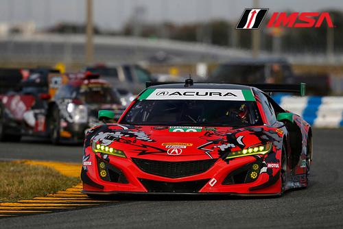 GTDクラス2番手タイムをマークしたマイケル・シャンク・レーシングの93号車アキュラNSX GT3