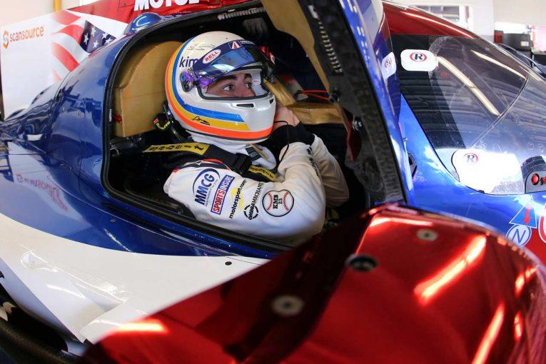 ユナイテッド・オートスポーツのテストタイムはアロンソが記録した1分37秒515。トップと1.7秒差の総合12番手だった。