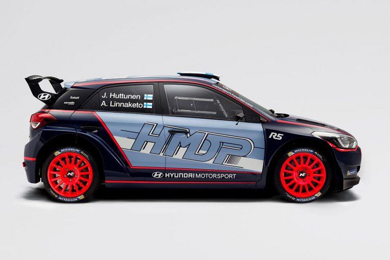 ヒュンダイが2018年のWRC2に投入を予定している新型ヒュンダイi20 R5