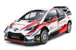 TOYOTA GAZOO Racing WRTが公開した2018年型トヨタ・ヤリスWRC
