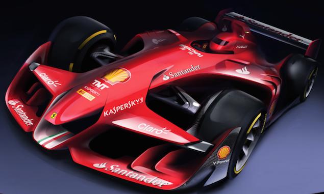 フェラーリが2015年に発表したコンセプトF1カー