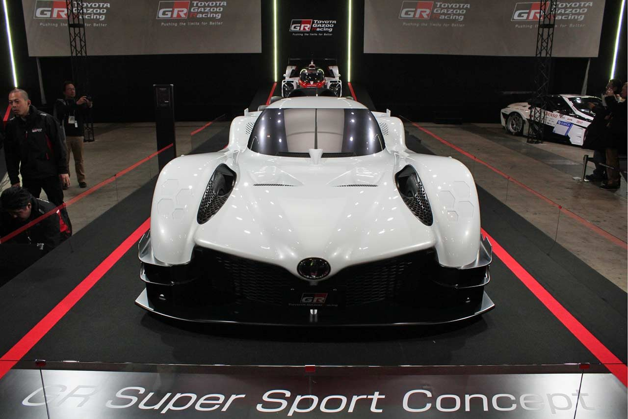 WEC/ル・マンカーの主要パーツを採用。トヨタ、GRスーパースポーツコンセプトを初公開