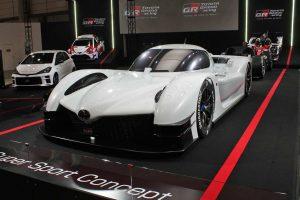 ル・マン/WEC | WEC/ル・マンカーの主要パーツを採用。トヨタ、GRスーパースポーツコンセプトを初公開