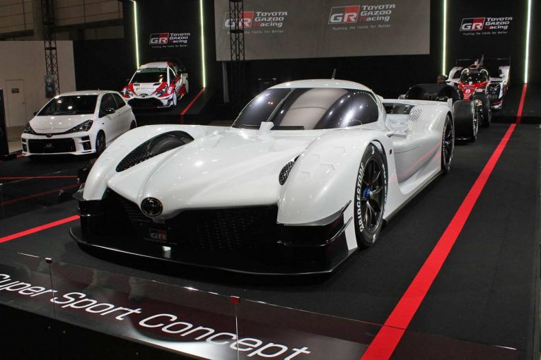 東京オートサロン2018で初公開されたGRスーパースポーツコンセプト