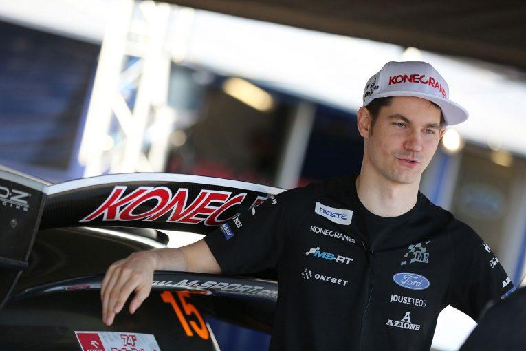 2018年のWRC8戦にスポット参戦するテーム・スニネン
