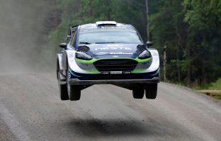 スニネンは2017年のラリー・フィンランドで表彰台目前の総合4位を獲得している