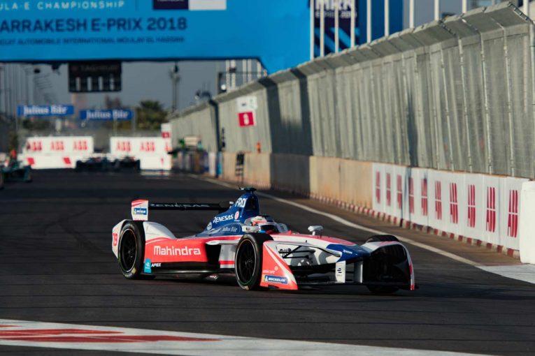 第2戦香港ePrixに続く2連勝を達成したフェリックス・ローゼンクビスト(マヒンドラ・レーシング)