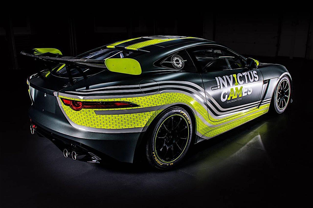 ジャガー、完全自社設計の『F-type GT4』を披露。I-PACEワンメイクはミシュランに