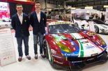 2017年チャンピオンのアレッサンドロ・ピエール・グイディ(左)とジェームス・カラド(右)