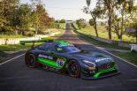 マキシミリアン・バーク、マキシミリアン・ゴッツ、アルバロ・パレンテがドライブする予定の56号車メルセデスAMG GT3