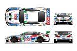 GTDクラスに参戦するターナー・モータースポーツのBMW M6 GT3カラーリングイメージ