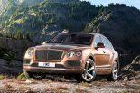 ベントレー初SUV『ベンテイガ』