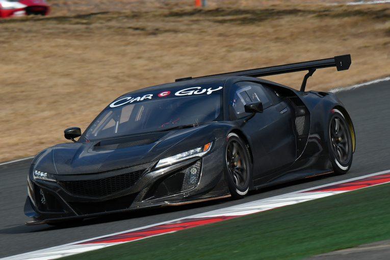 スーパーGT | スーパーGT:CarGuy RacingのホンダNSX GT3が富士でシェイクダウン