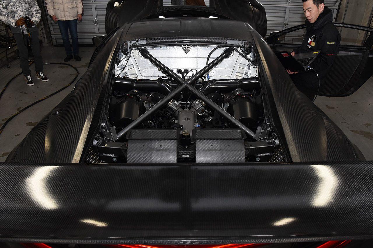 スーパーGT:CarGuy RacingのホンダNSX GT3が富士でシェイクダウン