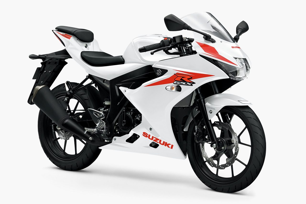 GSX-R125 ABS ブリリアントホワイト