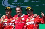 F1 | 【特集】2018年F1ドライバー推定年俸ランキング(後編):ダブル王者のフェラーリはふたりで100億円超えか