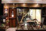 ユナイテッドカフェ店内にはヤマハXSR700が展示された