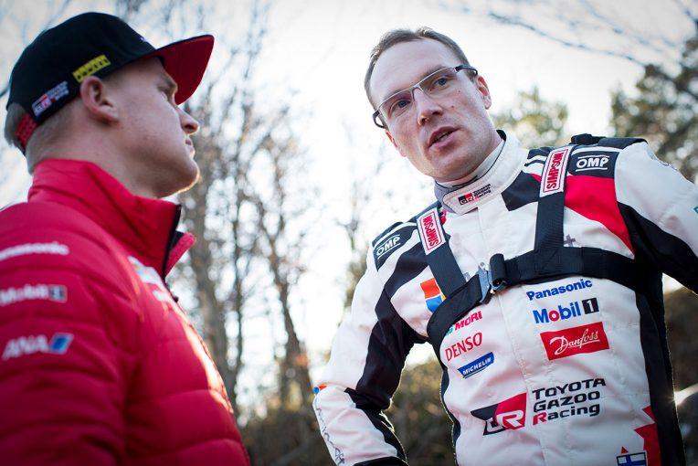 ラリー/WRC | WRC:トヨタ、復帰2年目へ準備万端。シェイクダウンで「ドライバー3人はいい表情をしていた」