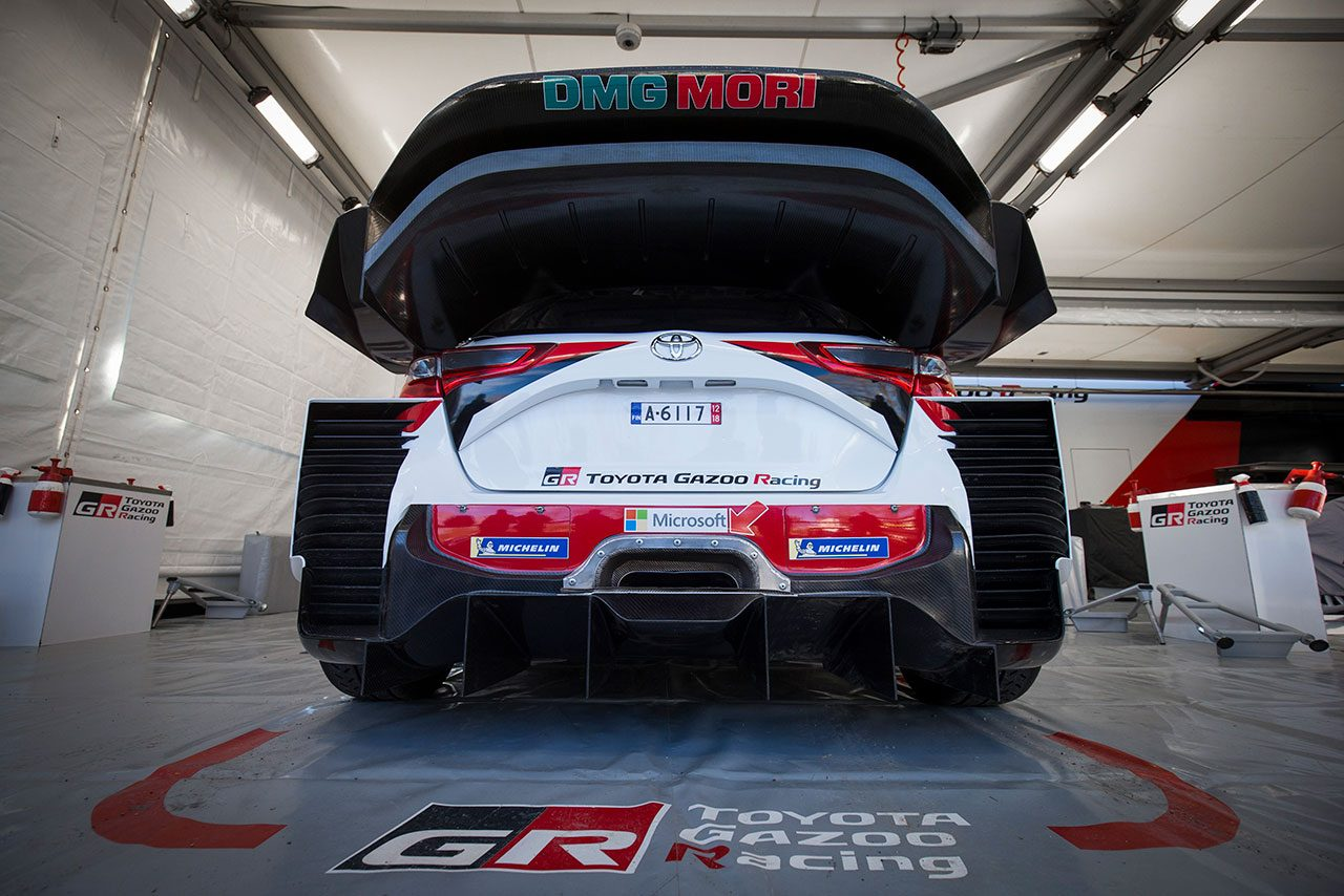 WRC:トヨタ、復帰2年目へ準備万端。シェイクダウンで「ドライバー3人はいい表情をしていた」