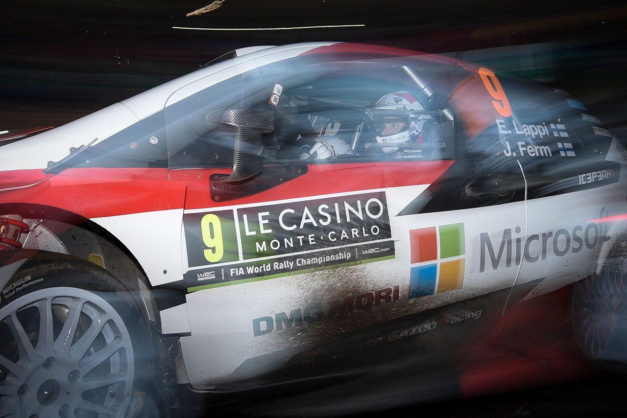 WRC:マキネンも「本当に難しい」と評するモンテ初日はスピン続発も、トヨタは全車完走