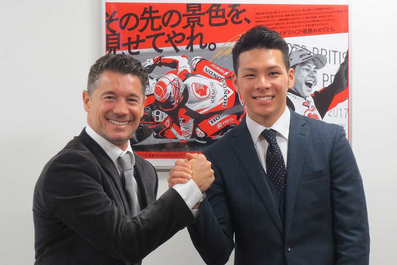 MotoGP:LCRホンダのチェッキネロ監督、中上貴晶は「非常にすばらしいライダー」