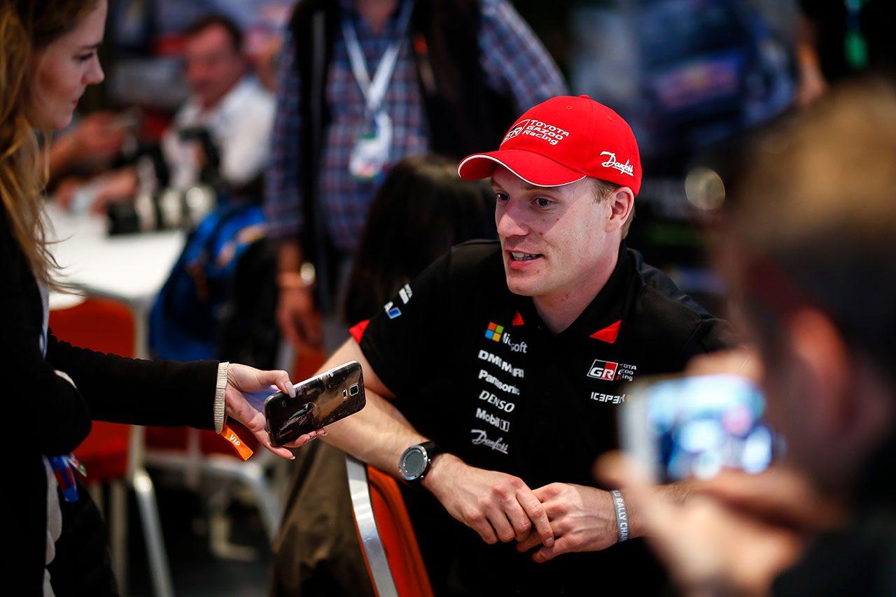 タナク「難しい路面状況で、実にモンテカルロらしいスタート」/WRC第1戦モンテカルロ デイ1コメント