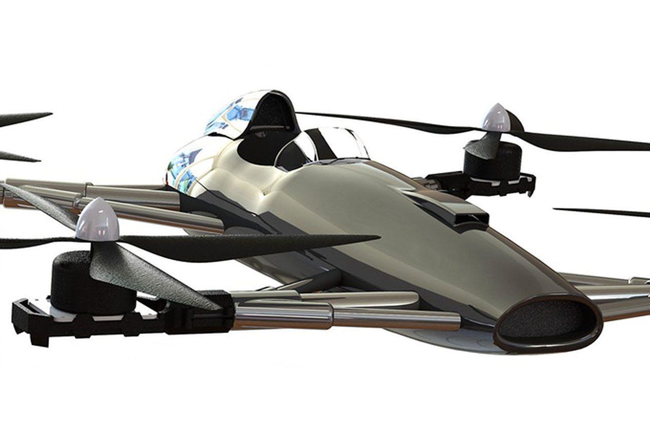 """F1×ドローンで""""空のF1""""? ベンチャー企業がパイロット搭乗型ドローンレースを構想"""
