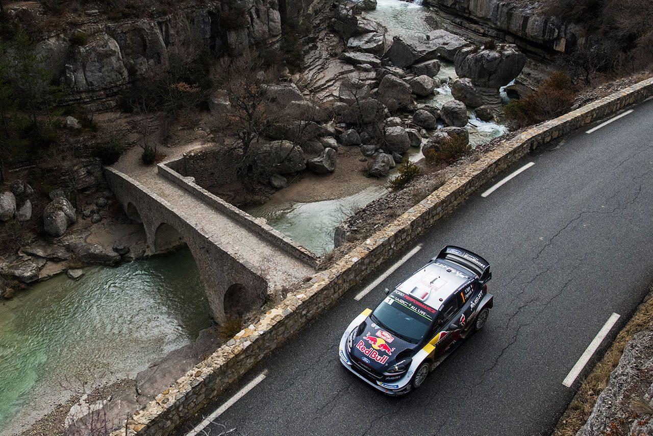 WRCモンテカルロ:トヨタ新加入のタナクが2番手浮上。ラッピ、ラトバラも表彰台射程圏