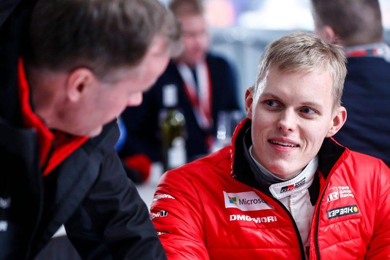 ラリー/WRC | WRC:トヨタのトミ・マキネン、総合2番手に浮上したタナクの「習得の早さに驚いている」