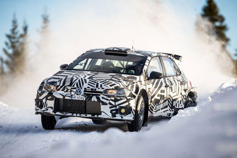 ラリー/WRC | フォルクスワーゲン、ポロGTI R5を雪上テスト。ソルベルグ、グロンホルムらがドライブ