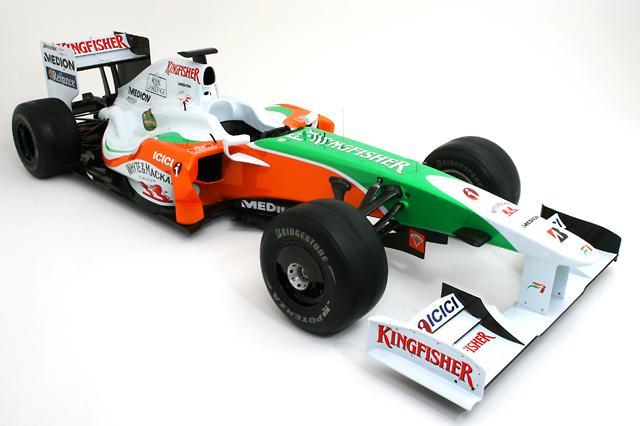 フォース・インディアF1、09年マシンVJM02のカラーリングを発表(2)