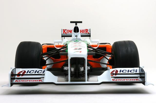 フォース・インディアF1、09年マシンVJM02のカラーリングを発表(3)