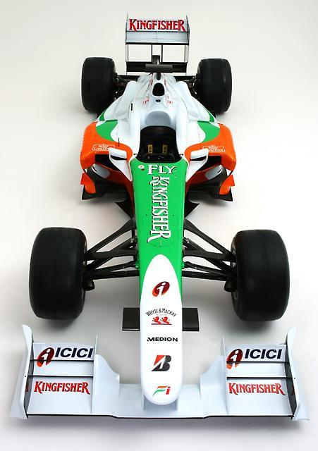 フォース・インディアF1、09年マシンVJM02のカラーリングを発表(4)