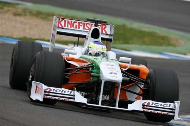 フォース・インディアVJM02がコースデビュー。トラブル発生も、チームは好感触(1)