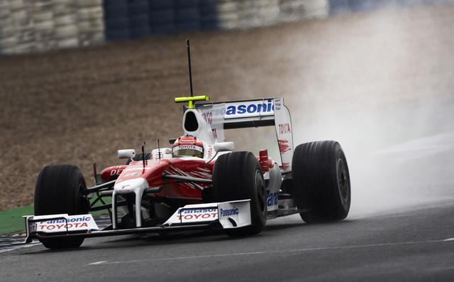 ヘレステスト2日目:雨の中グロックがトップタイム。フェラーリは走行とりやめ(1)